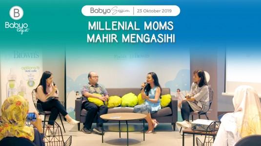 Babyo Session: Millenial Moms Mahir MengASIhi