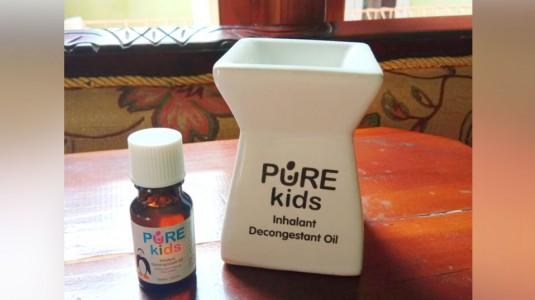 Review Inhalant Decongestant Oil Pure Kids