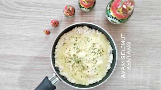 Ayam Selimut Kentang (MPASI 9M+)