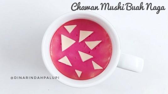 Resep MPASI Chawanmushi Buah Naga (12M+)