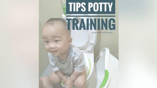 Tips Potty Training ala Mom Natalia