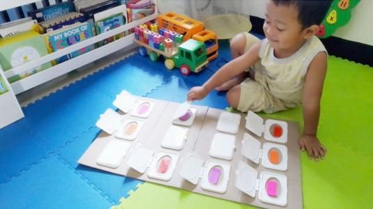Ide Bermain untuk si Kecil: Colour Memory Game