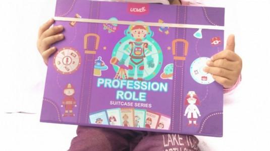 Review Profession Roles Magnetic Puzzle Suitcase