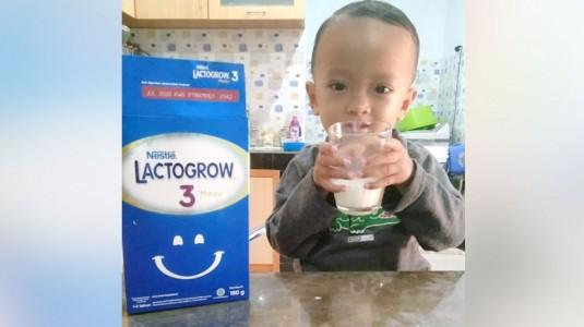 Lactogrow 3: Susu Pertumbuhan Favorit Anakku