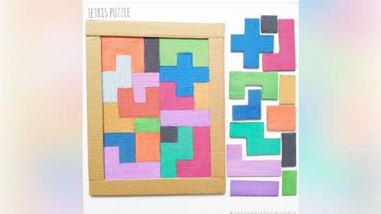 Melatih Konsentrasi si Kecil dengan Permainan Tetris Puzzle