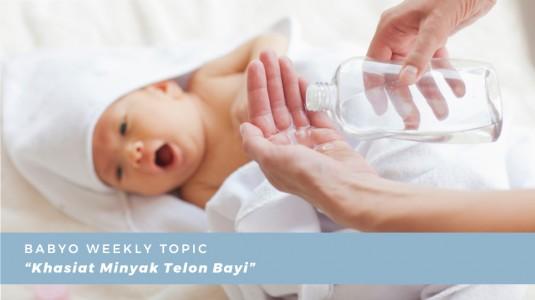 Khasiat Minyak Telon Bayi