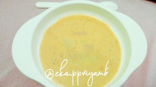 Resep MPASI: Creamy Chicken Soup (6M+)