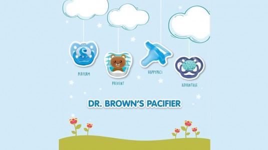 Dr. Brown' Pacifier Range
