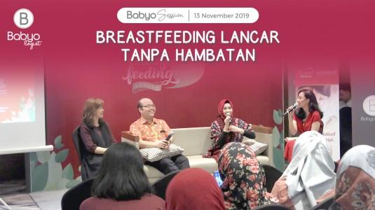 Babyo Session: Breastfeeding Lancar Tanpa Hambatan