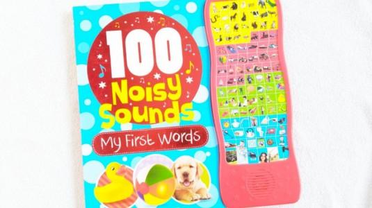 100 Noisy Sound My First Words: Kenalkan si Kecil Berbagai Suara Dari Buku Ini