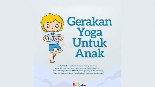 Gerakan Yoga Untuk Anak