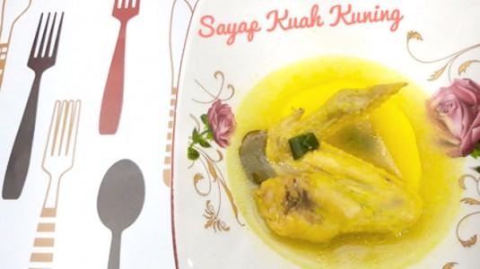Sayap Ayam Kuah Kuning (11M+)