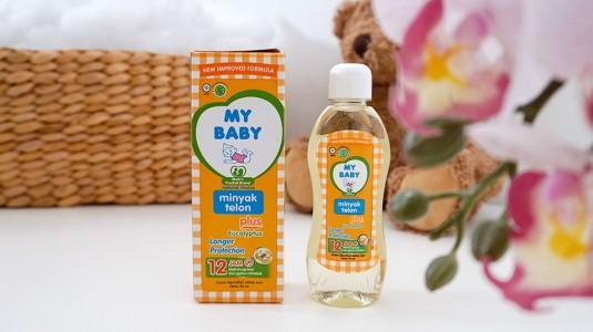 Babyo Review My Baby Minyak Telon Plus Eucalyptus Longer Protection