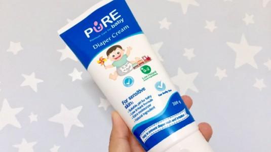 Review Produk: Diaper Cream Pure
