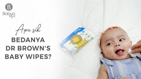 Babyo Review: Perbedaan Dr. Brown's Baby Wipes dengan Wipes Biasa Lainnya
