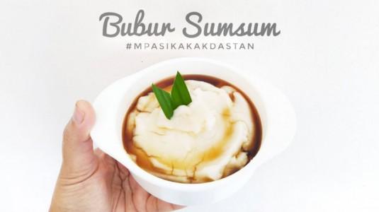 Resep MPASI Bubur Sumsum (12M+)