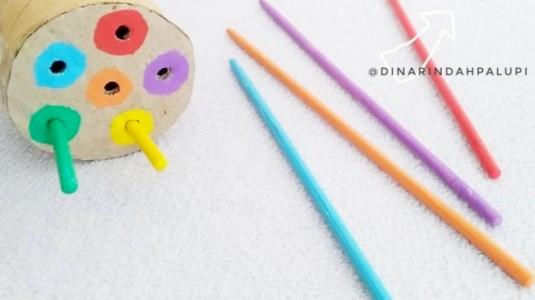 Ide Bermain Anak - DIY Sorting Color