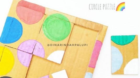 Ide Bermain Anak - Circle Puzzle