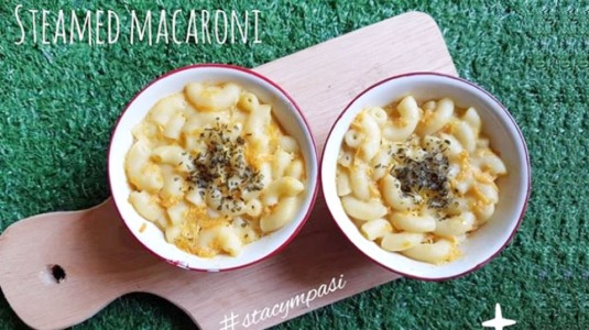 Steamed Macaroni (Camilan MPASI 7M+)