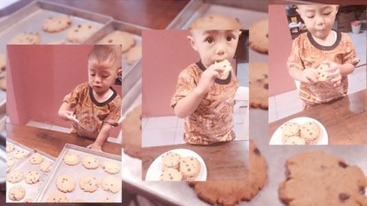 Asah Motorik Halus Anak dengan Memasak Cookies Bersama