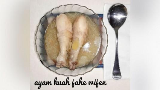 Resep Ayam Masak Jahe Wijen untuk Pasca Melahirkan dan ASI Booster