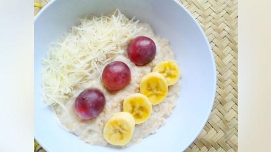 Oatmeal Keju with Fruits