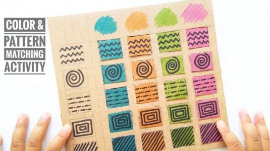 Ide Bermain Anak - Color & Pattern Matching Activity