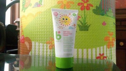 Babyganics SPF 50+ Sunscreen Lotion, Sunscreen Andalan si Kecil
