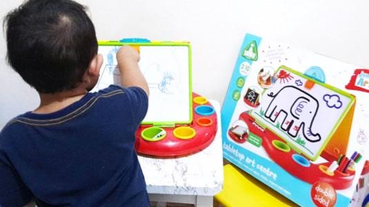 Tabletop Art Centre, Media yang Tepat untuk Menyalurkan Kreativitas si Kecil