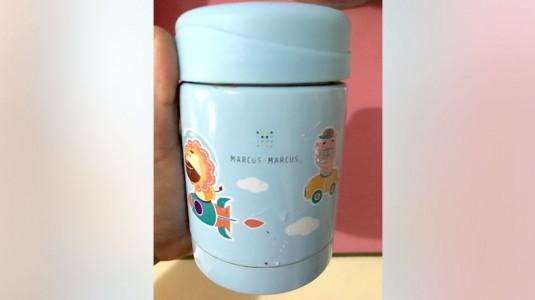 Marcus & Marcus Thermal Food Jar: Andalan MPASI on the go!