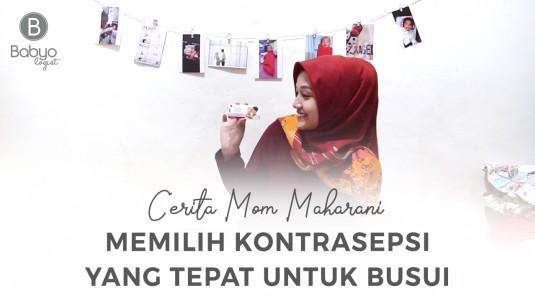 Babyo Story with Mom Maharani: Pil KB Andalan Laktasi (Kontrasepsi untuk Busui)
