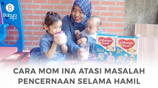 Babyo Story with Mom Ina: Atasi Masalah Pencernaan saat Hamil