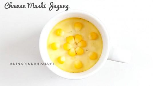 Resep MPASI Chawan Mushi Jagung (12M+)
