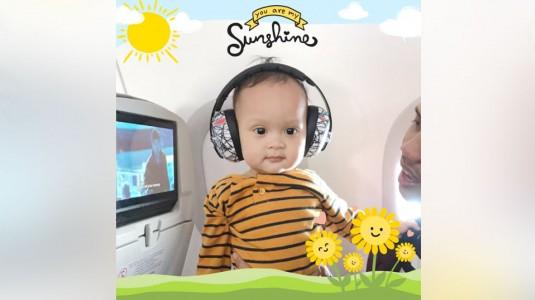 Tips Anti Rewel Terbang Bersama Bayi!