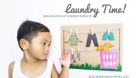 Ide Bermain Anak - Laundry Time