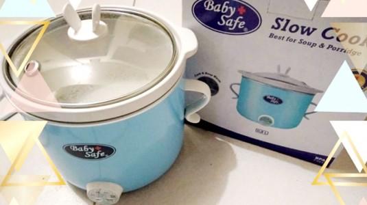Kenapa Harus Slow Cooker Baby Safe?
