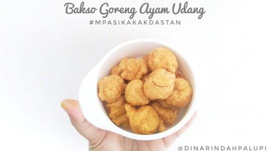 Resep MPASI Bakso Goreng Ayam Udang (12M+)
