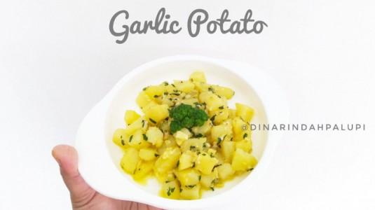 Resep MPASI Garlic Potato (12 M+)