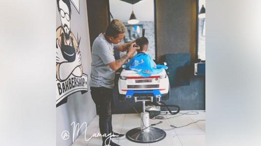 Tips Mengajak Anak Potong Rambut ala Mamagi