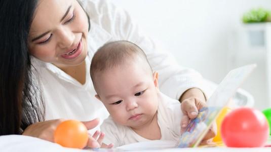 Jenis Buku untuk Bayi 0-12 Bulan
