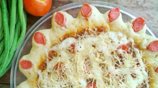 Pizza Homemade untuk si Kecil Ala Mom Risny