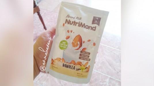 REVIEW PRODUCT: Nutrimond, Susu almond dengan kandungan Chia Seeds dan Flax seeds