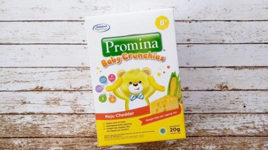 Review Promina Baby Crunchies Rasa Keju Cheddar