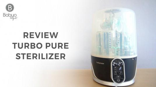 Babyo Review: Babymoov Turbo Pure Sterilizer