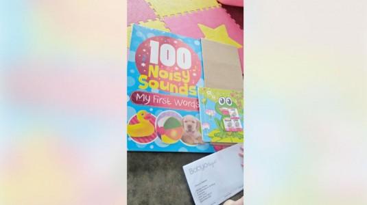 Review Buku 100 Noisy Sounds My First Word, Kenalkan Anak Berbagai Suara