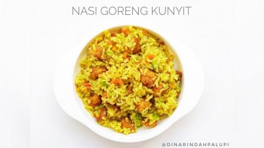 Resep MPASI Nasi Goreng Kunyit (12M+)