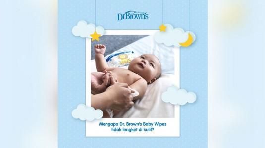 Baby Wipes yang Tidak Meninggalkan Rasa Lengket di Kulit
