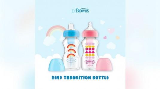 Dr. Brown's Options+ Transition Bottle Kit