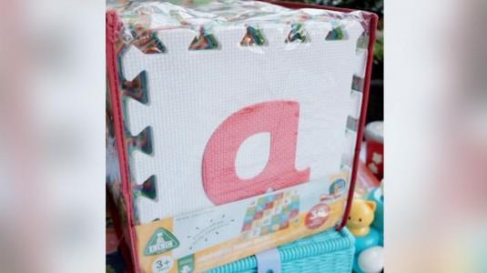Review ELC Alphabet foam mats