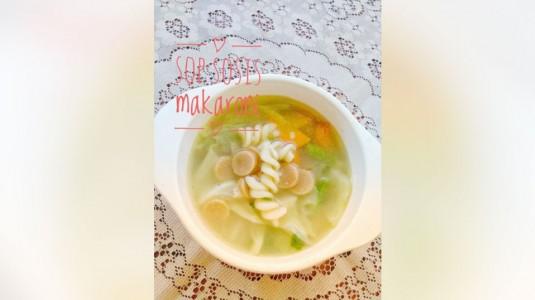 Resep Sop Sosis Makaroni a la Mom Defan
